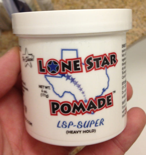 Lone Star Pomade Super Hold tub