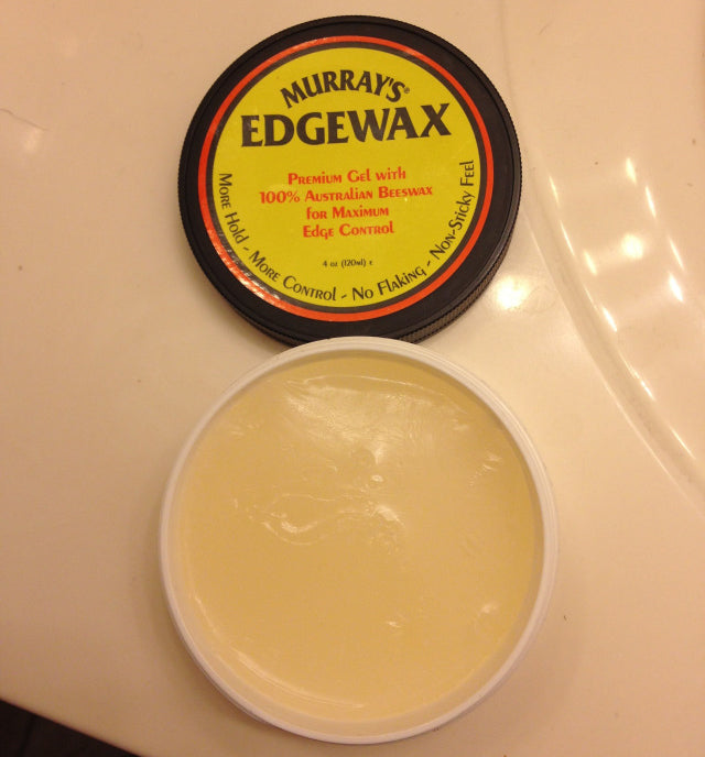 Murray's Edgewax open can