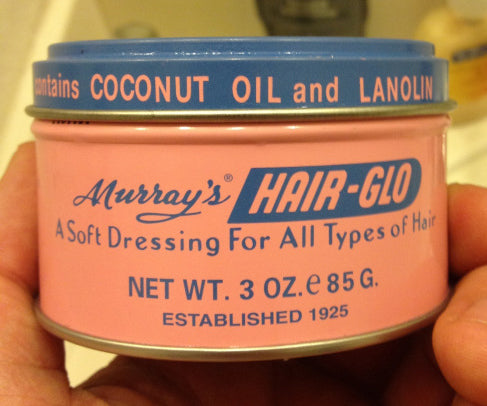 Murray's Hair-Glo Pomade can