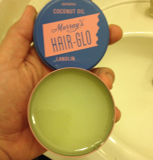 Murray's Hair-Glo Pomade open can