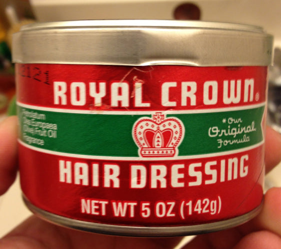Royal Crown Hair Dressing can
