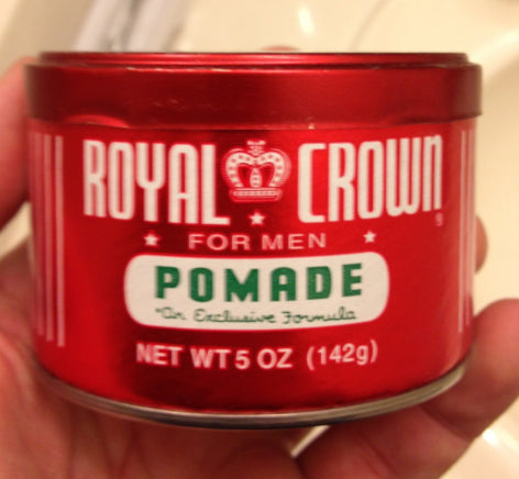Royal Crown Pomade can
