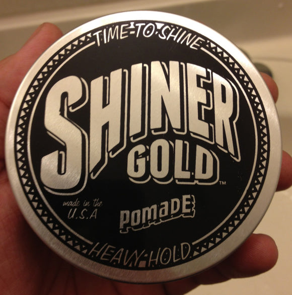 Shiner Gold Pomade top label