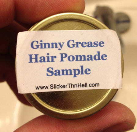 Slicker Thn Hell Ginny Grease Pomade bottom label