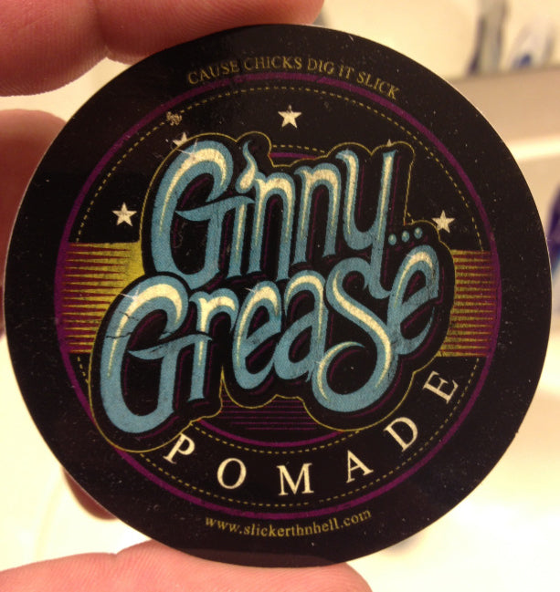 Slicker Thn Hell Ginny Grease Pomade top label