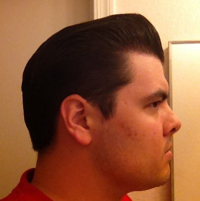 Suavecito Brillantcreme pomp side