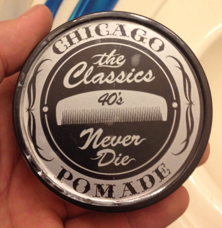Classics Pomade Co. 40's Vanilla Pipe Tobacco top label