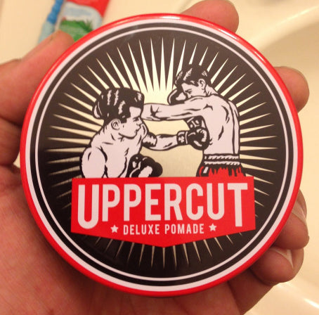Uppercut Deluxe Pomade Top Label