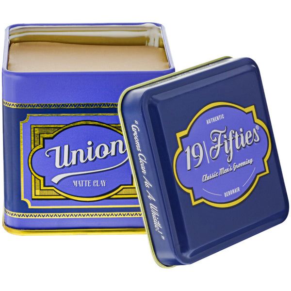 19 Fifties Union Matte Clay Open