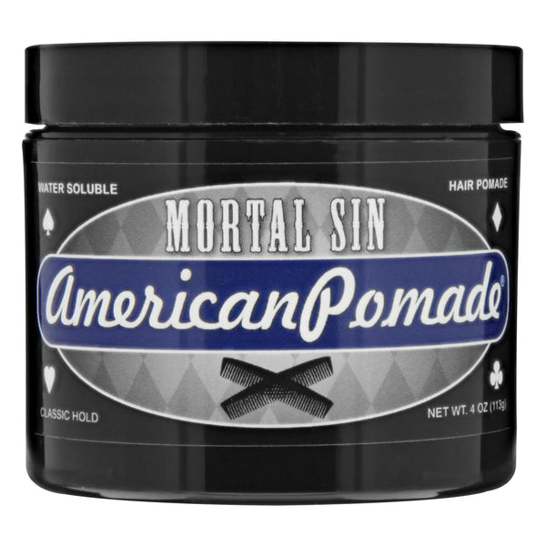 American Pomade Mortal Sin Front