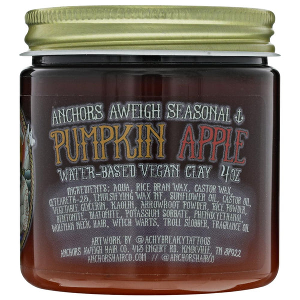 Anchors Aweigh Seasonal Pumpking Apple Clay Pomade - Front