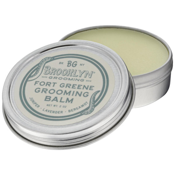 Brooklyn Grooming Fort Greene Beard Balm Open