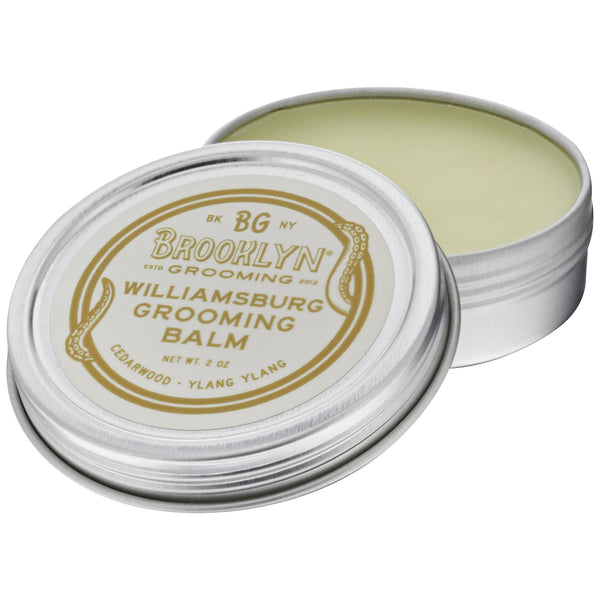 Brooklyn Grooming Williamsburg Beard Balm Open