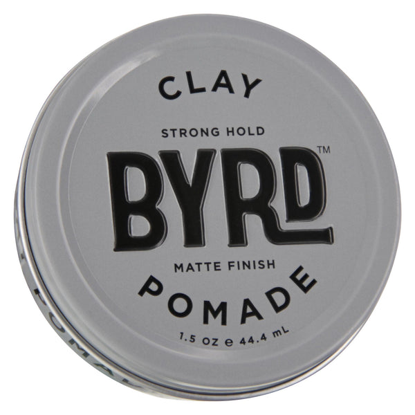 Byrd Clay Pomade 1.5oz Front