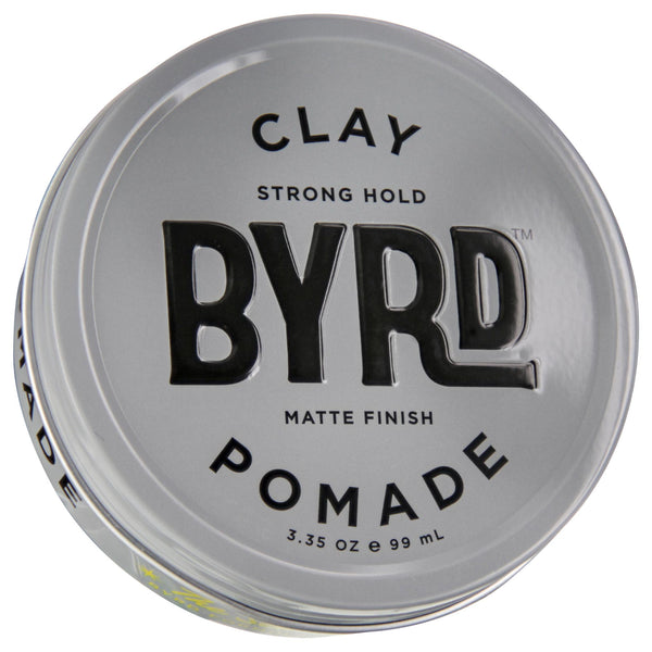 Byrd Clay Pomade 3oz Front