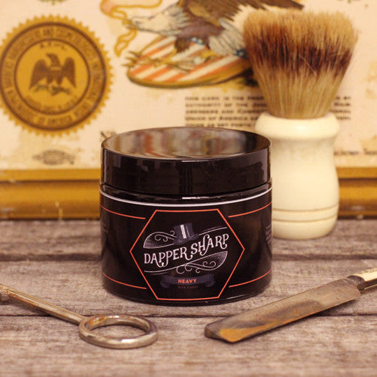 Dapper Sharp Heavy Hold Pomade
