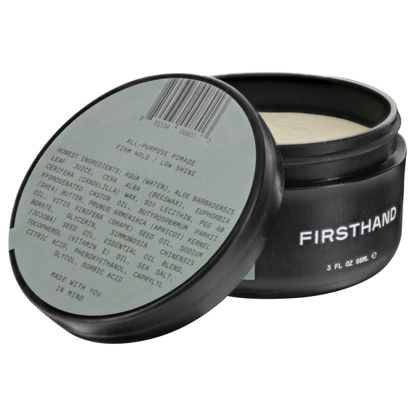 Firsthand Supply All-Purpose Pomade Open
