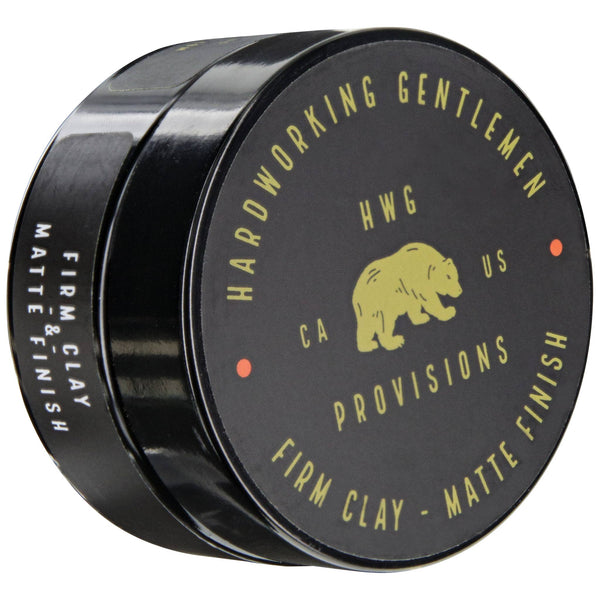 Hardworking Gentlemen Firm Clay Pomade Front Angle