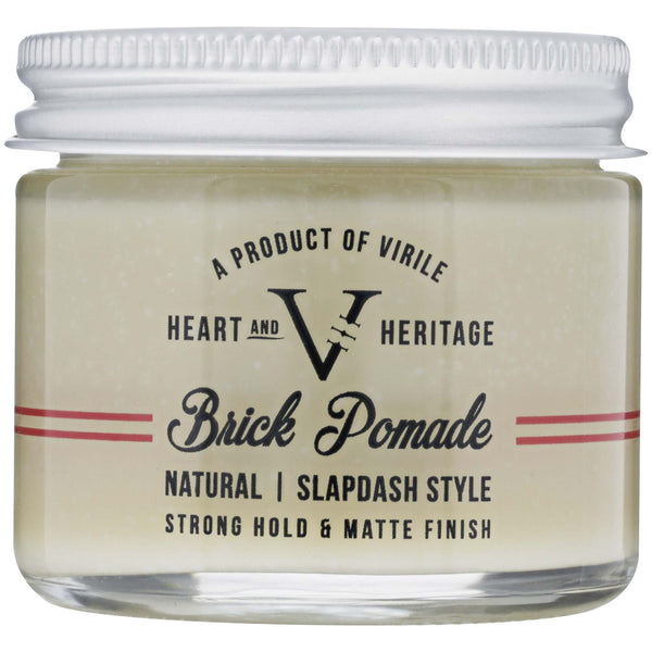 Heart & Heritage Brick Pomade Front