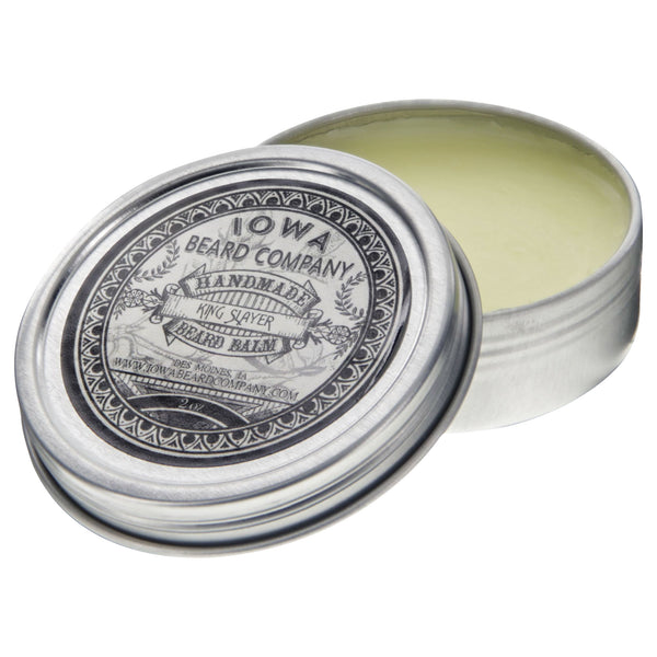 Iowa Beard Company Beard Balm King Slayer Open