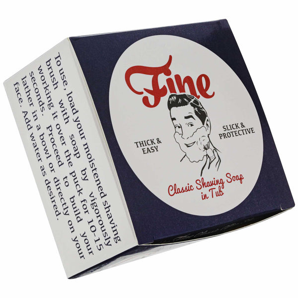 Mr. Fine American Blend Shave Soap Box