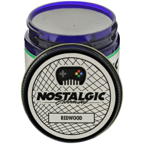 Nostalgic Grooming Clay Pomade - Redwood Open