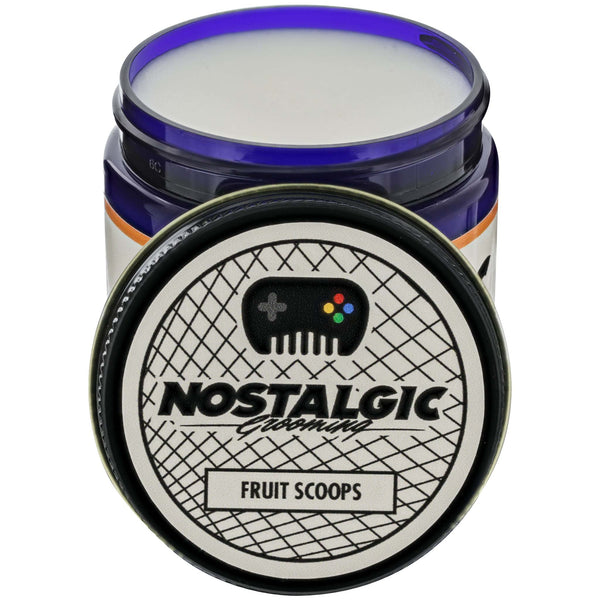 Nostalgic Grooming Water Based Pomade- Fruit Scoops Open