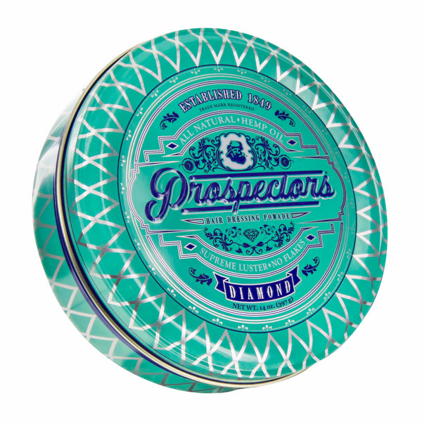 Prospectors Diamond Pomade 14 ounce tin jar - Front view