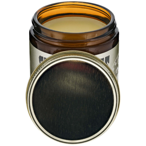 Flagship Pomade Co. Steel Horse Oil Based Pomade Open