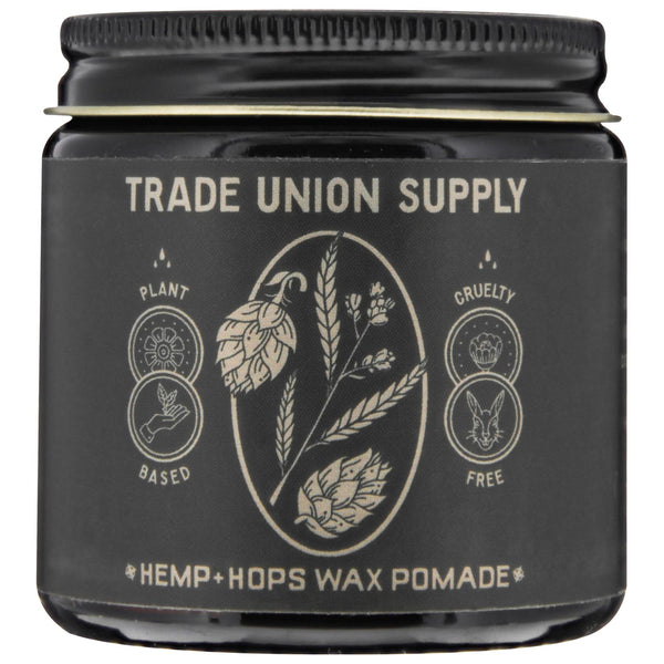 Trade Union Supply Hemp + hops Wax Pomade
