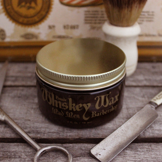 Whiskey Wax Pomade