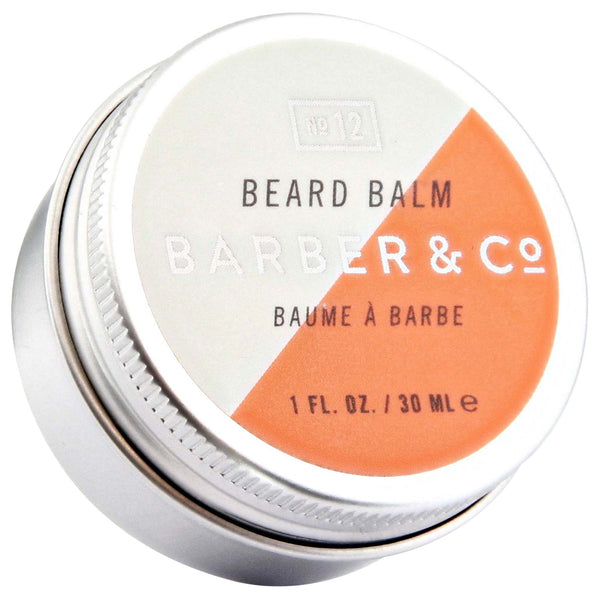 Barber & Co. Beard Balm Top Label