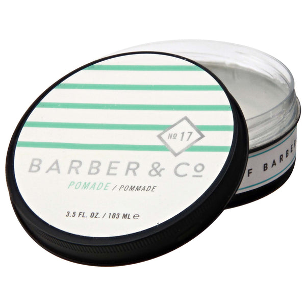 Barber & Co. Pomade open