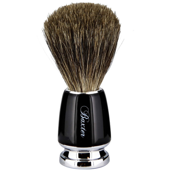 million fingered massage on the face shaving brush
