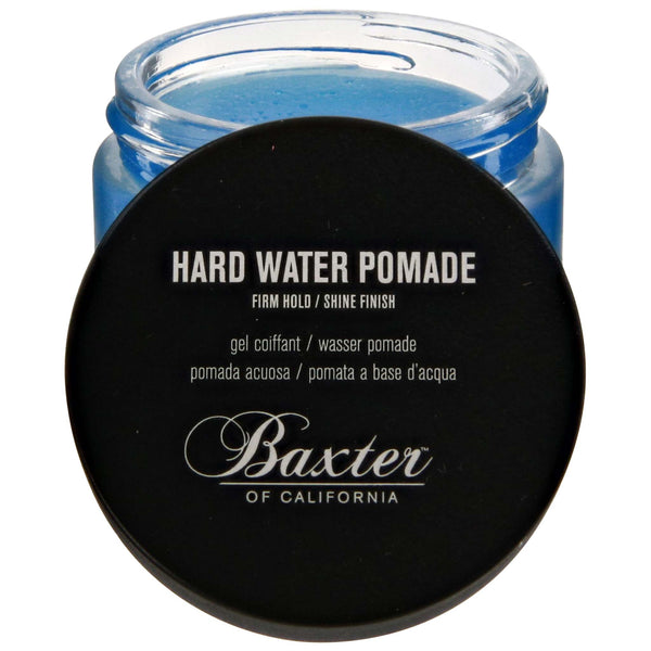 Baxter Hard Water Pomade Open