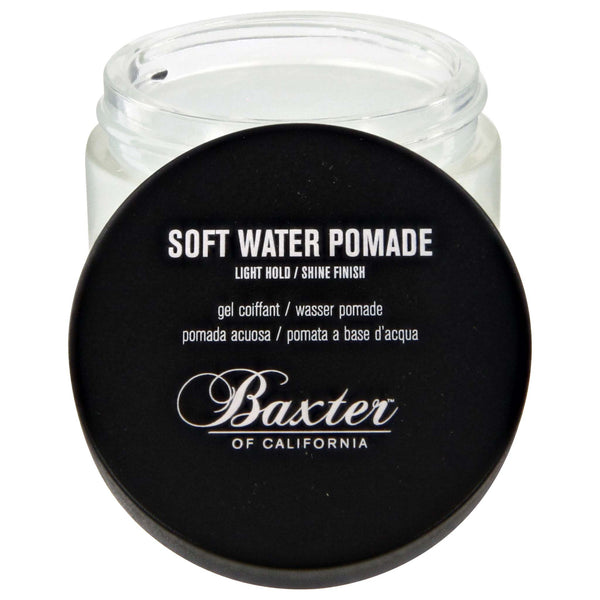 Baxter Soft Water Pomade Open