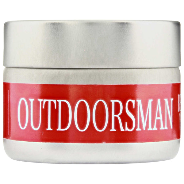 Bay Beard Wax Outdoorsman Side Label