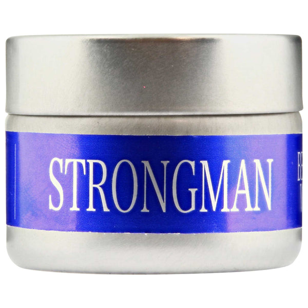 Bay Beard Wax Strongman Side Label