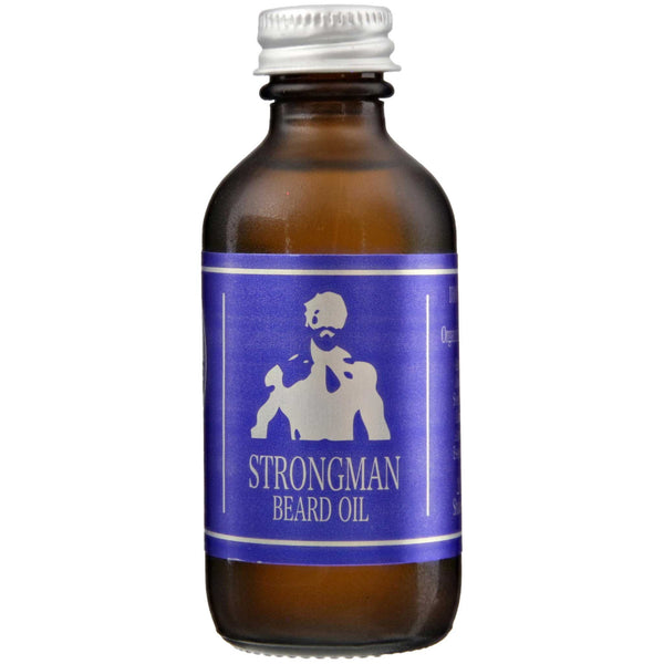 Bay Beard Oil Strongman Front Label
