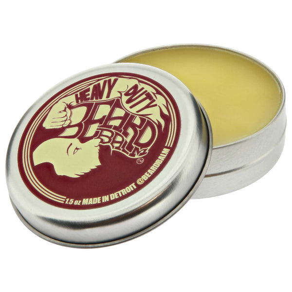 Beard Balm Heavy Duty Open