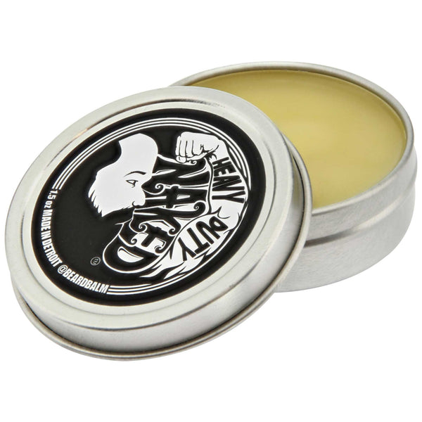 Beard Balm Heavy Duty Naked Open