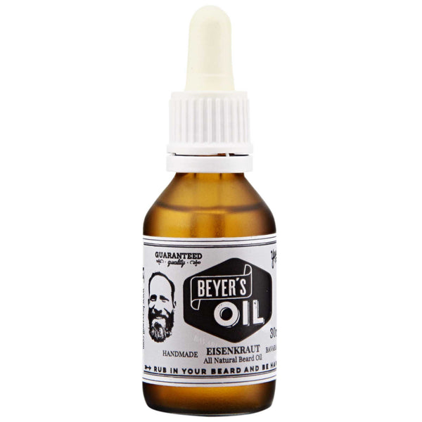 Beyer's Beard Oil Front Label
