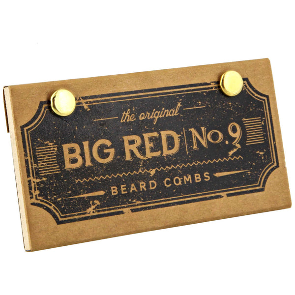 Big Red No. 9 comb Great for longer fuller beards