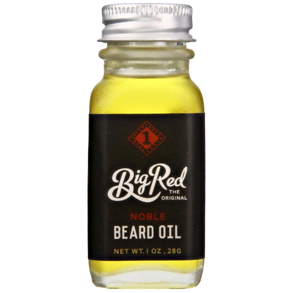 Big Red Beard Oil Noble Front Label