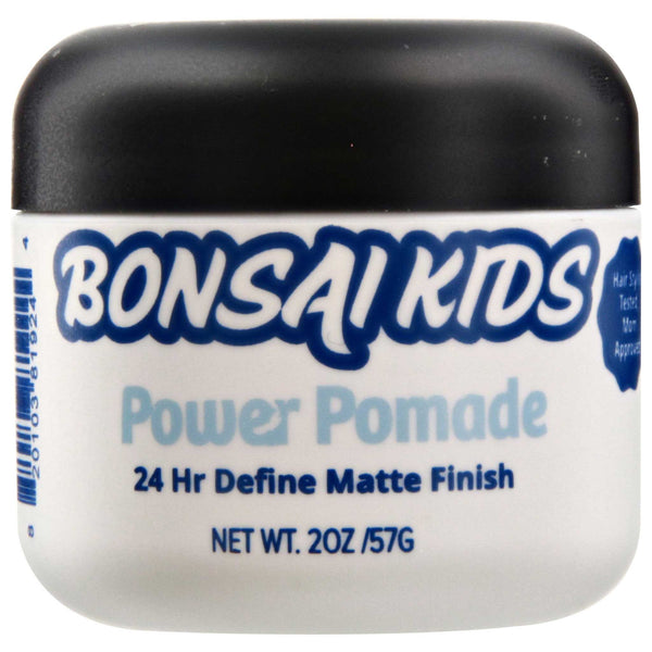 Bonsai Kids Power Pomade Side Label