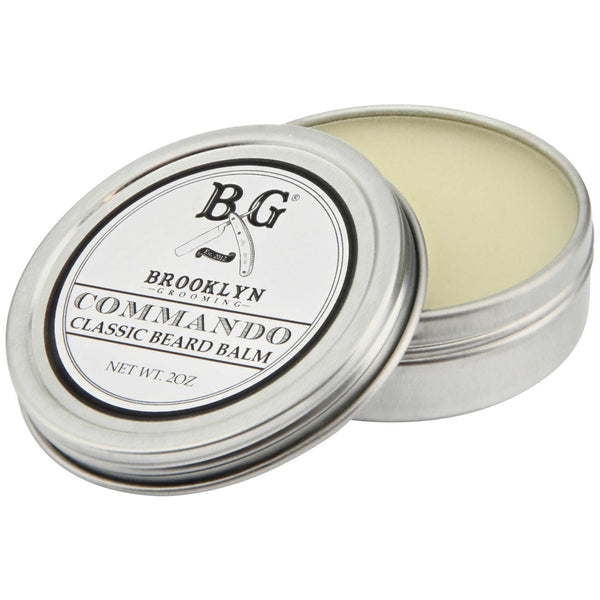 Brooklyn Grooming Commando Beard Balm Open