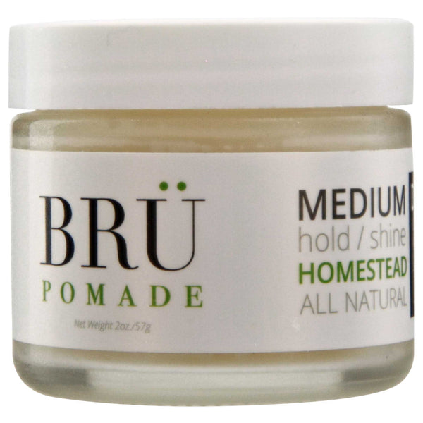 Bru Pomade Homestead Side