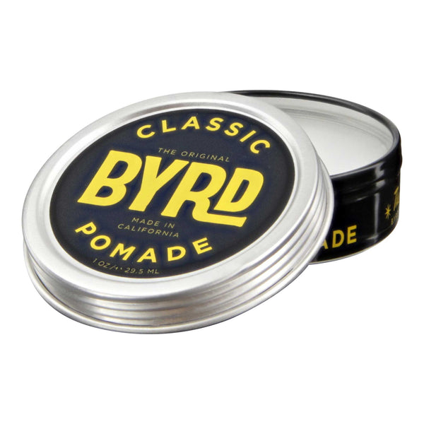 Byrd Classic Pomade Open