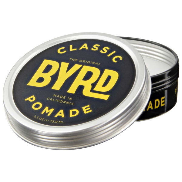 Byrd Classic Pomade 3 oz Open