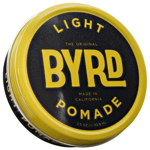 Byrd Light Pomade 3 oz Top